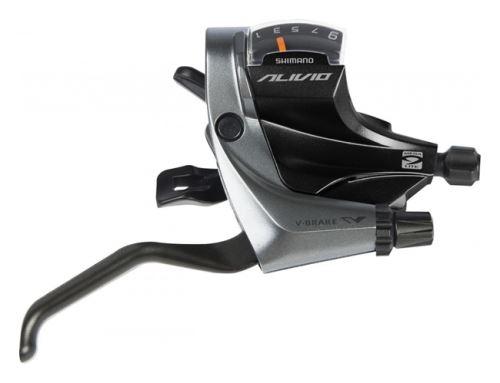 radiaca a brzdová páka Shimano Alivio ST-M4000 9p