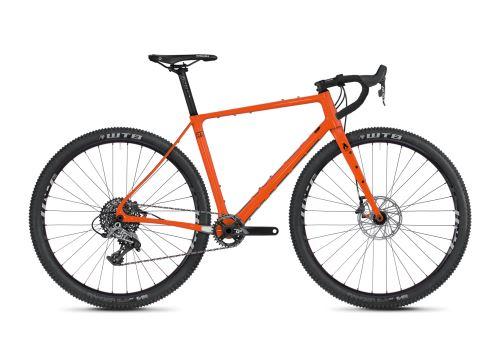 Gravel bike GHOST Road Rage Fire 6.9 LC Monarch Orange / Night Black - 2020