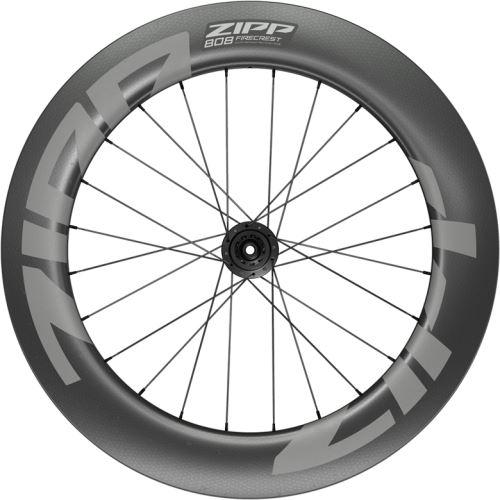 Napletený koleso ZIPP 808 Firecrest Carbon Tubeless, pre diskovú brzdu, Center Locking 700C