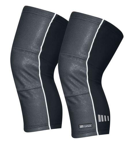 návleky na kolená FORCE WIND-X, čierne XL