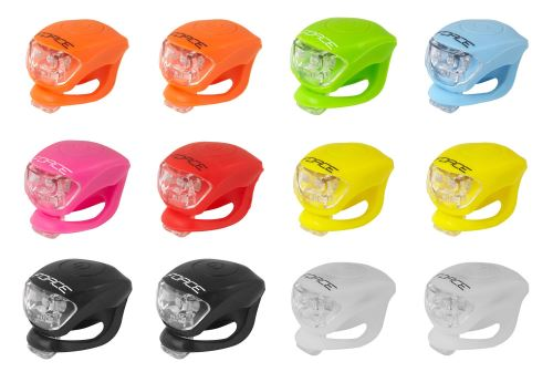Blikačka FORCE DOUBLE - predné - rôzne farby