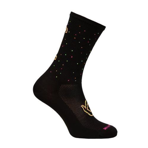 Ponožky Lawi Mara dlhé, flou-mix black