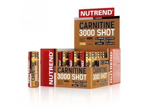 nápoj Nutrend Carnitine 3000 Shot 20x60ml - Rôzne príchute