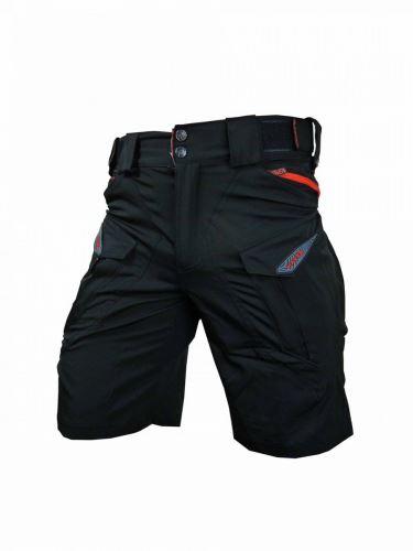 Kraťasy HAVEN CUBES blackies black / red L
