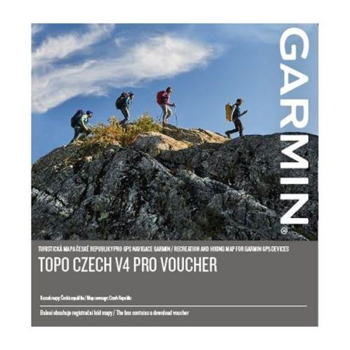 Mapové podklady Garmin Topo Czech V4 PRO