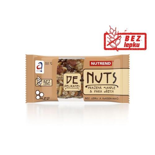 tyčinka Nutrend DeNuts 35g - Rôzne príchute