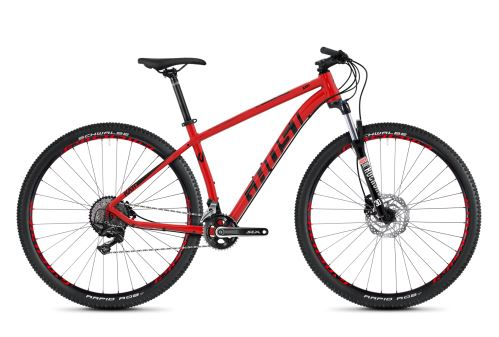 Horský bicykel GHOST KATO 7.9 AL - Riot Red / Night Black - 2020