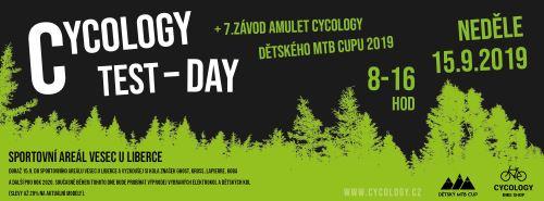Cycology test day 2019 + 7. závod Amulet Cycology detského MTB Cupu 2019
