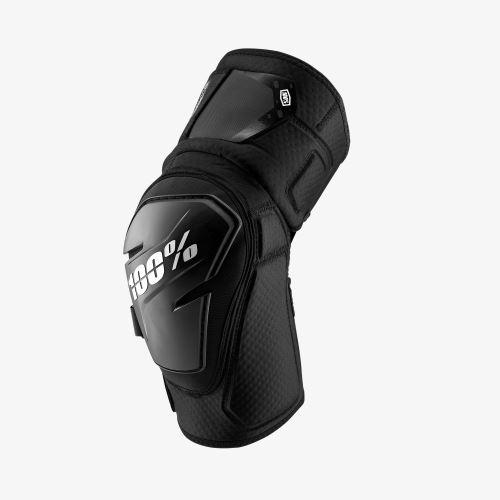 Chránič kolena 100% FORTIS Knee Guard Black