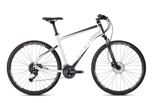 Krosový bicykel GHOST SQUARE CROSS 1.8 AL - Iridium Silver / Jet Black / Star White - 2020