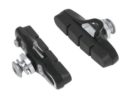 Gumičky bŕzd FORCE cestné výmenné CNC, čierne 55mm