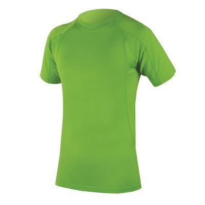 Endura BaaBaa Merino spodná vrstva - krátky rukáv Zelená