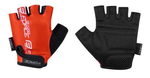 rukavice FORCE KID detské, červené S