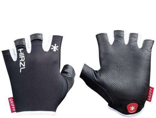 krátkoprsté rukavice Hirzl Grippp light SF - čierna