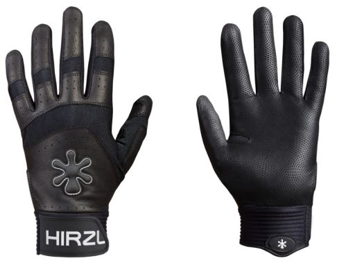 Celoprsté rukavice Hirzl Grippp force - čierna