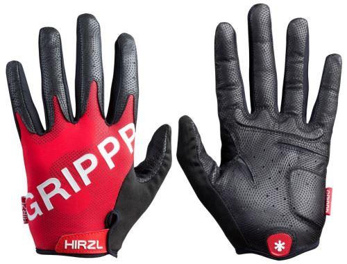 Celoprstové rukavice Hirzl Grippp Tour FF 2.0 - červená