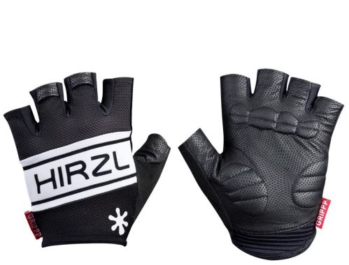 krátkoprsté rukavice Hirzl Grippp comfort SF - čierna